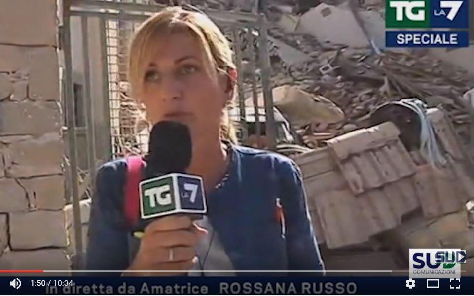 Terremoto Amatrice Rossana Russo