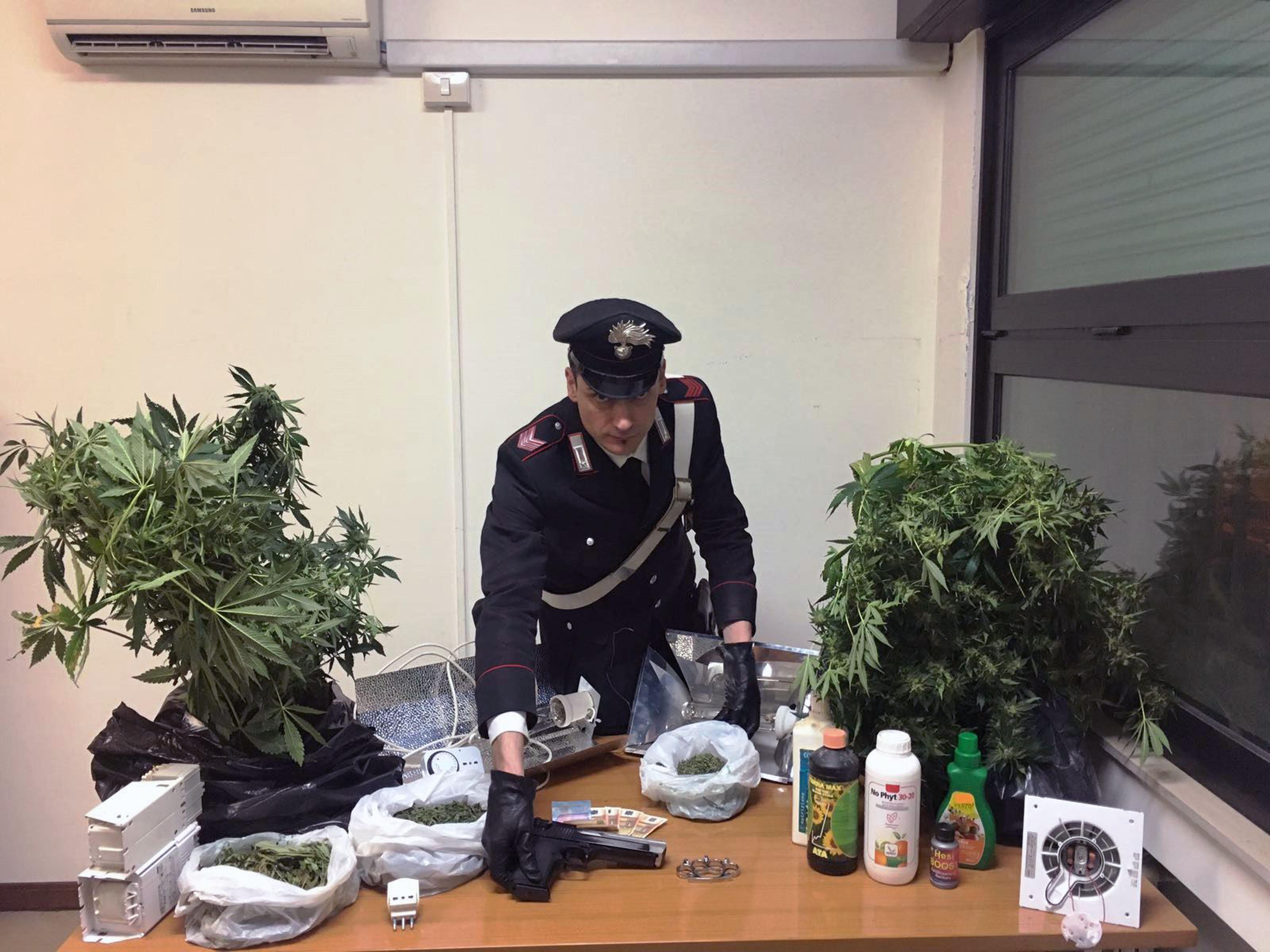 marijuana trovato agli studenti