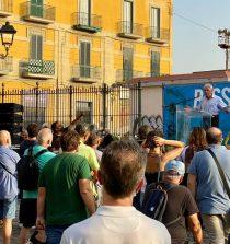 Comizio Bassolino a San Giovanni